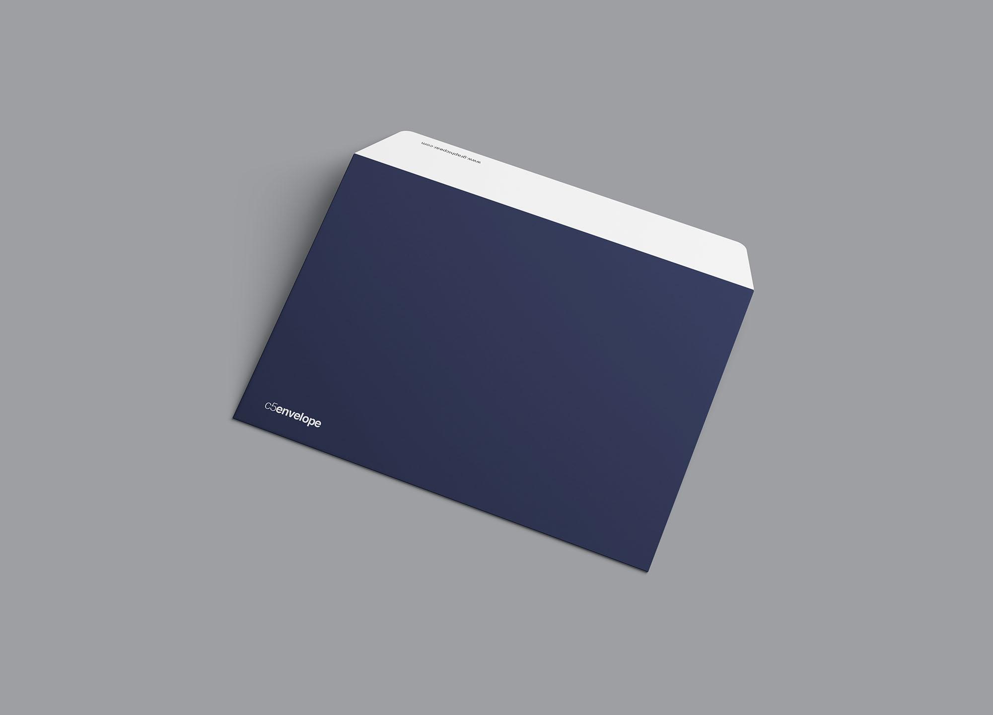 Back C4 Envelope Mockup