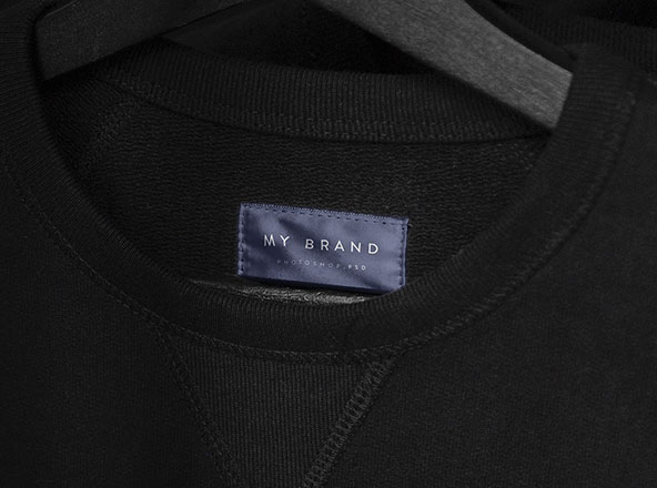 Clothing Label Mockup