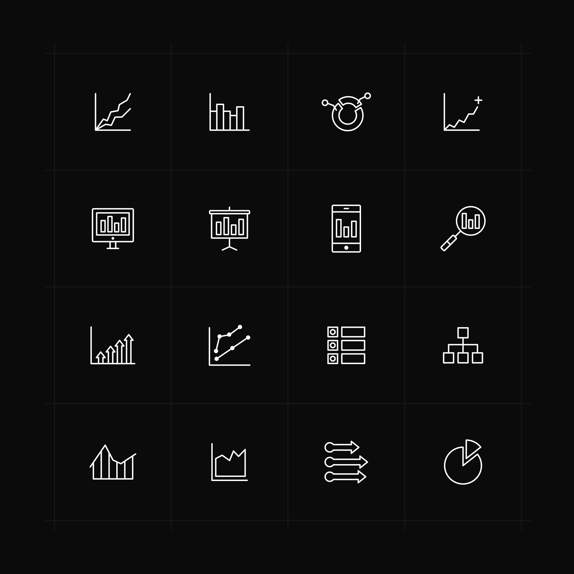 Analysis Icons