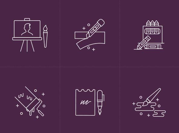 Design & Art Tools Icons