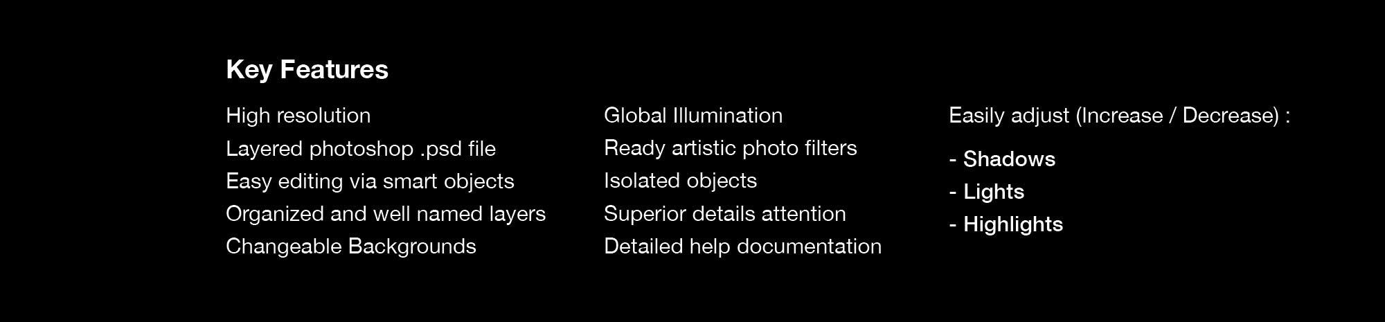 Branding Mockup - Features