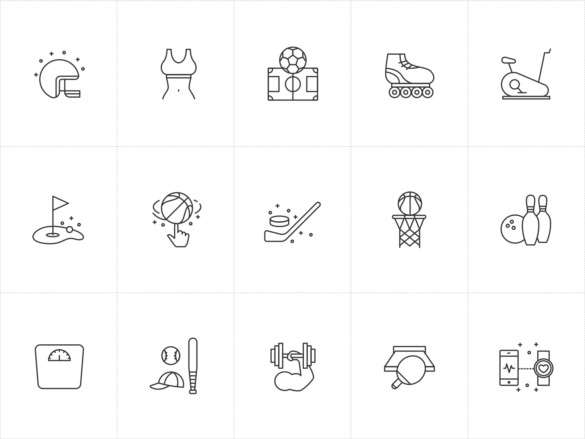 Vector Sport Icons