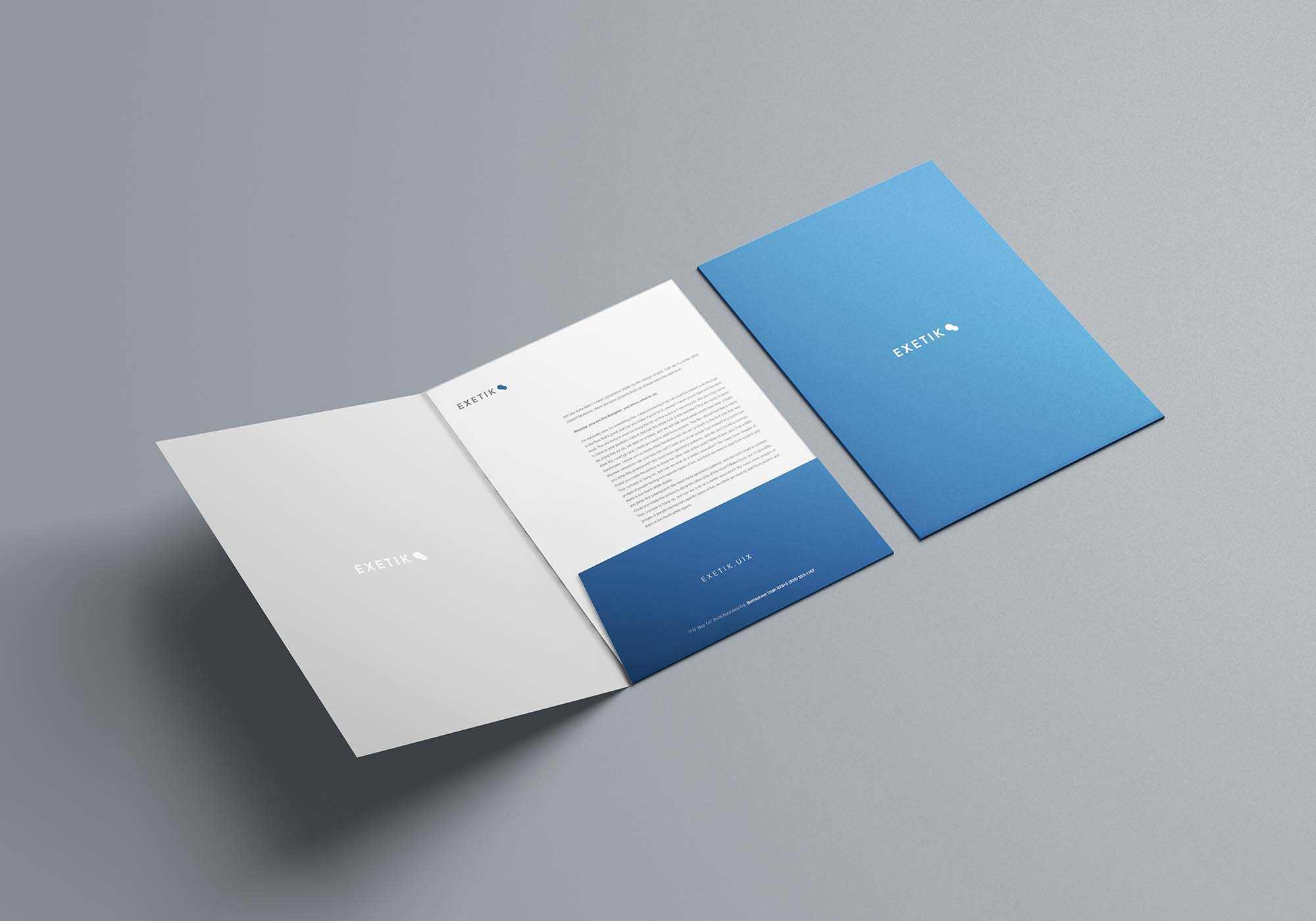 A4 Folder Mockup 3