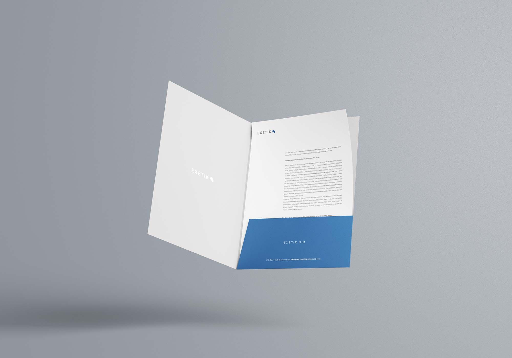A4 Folder Mockup 7