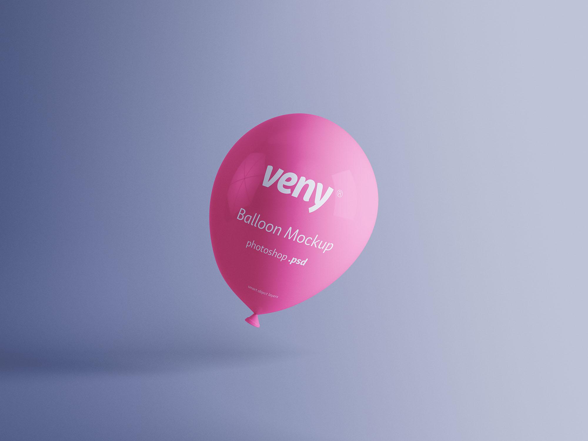 透明气球样机