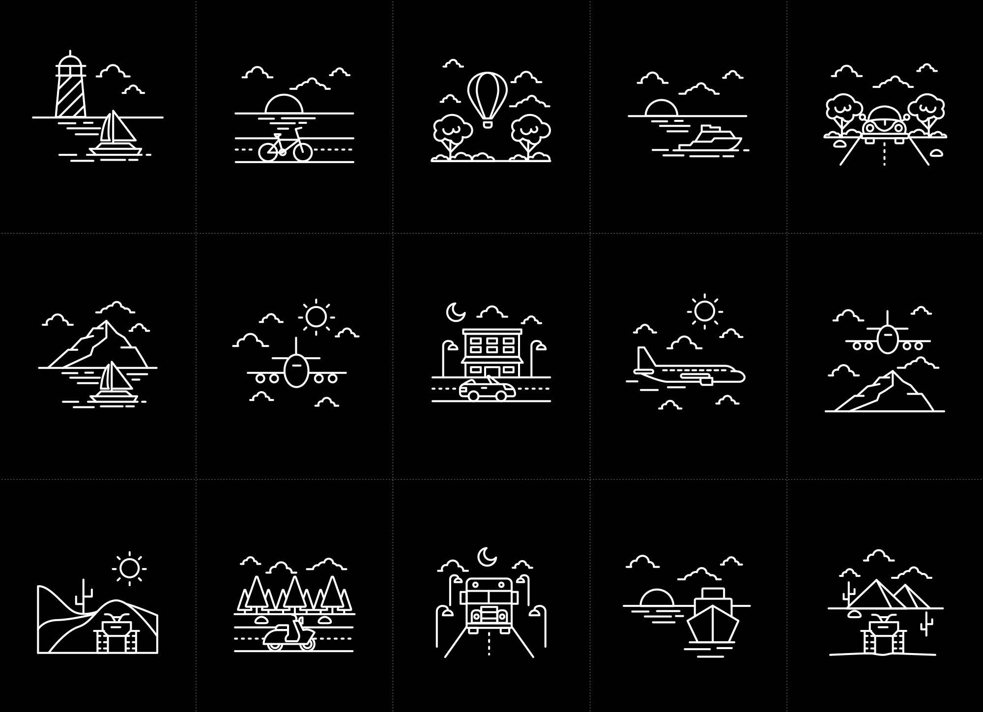 Vehicle Vector Icons 2