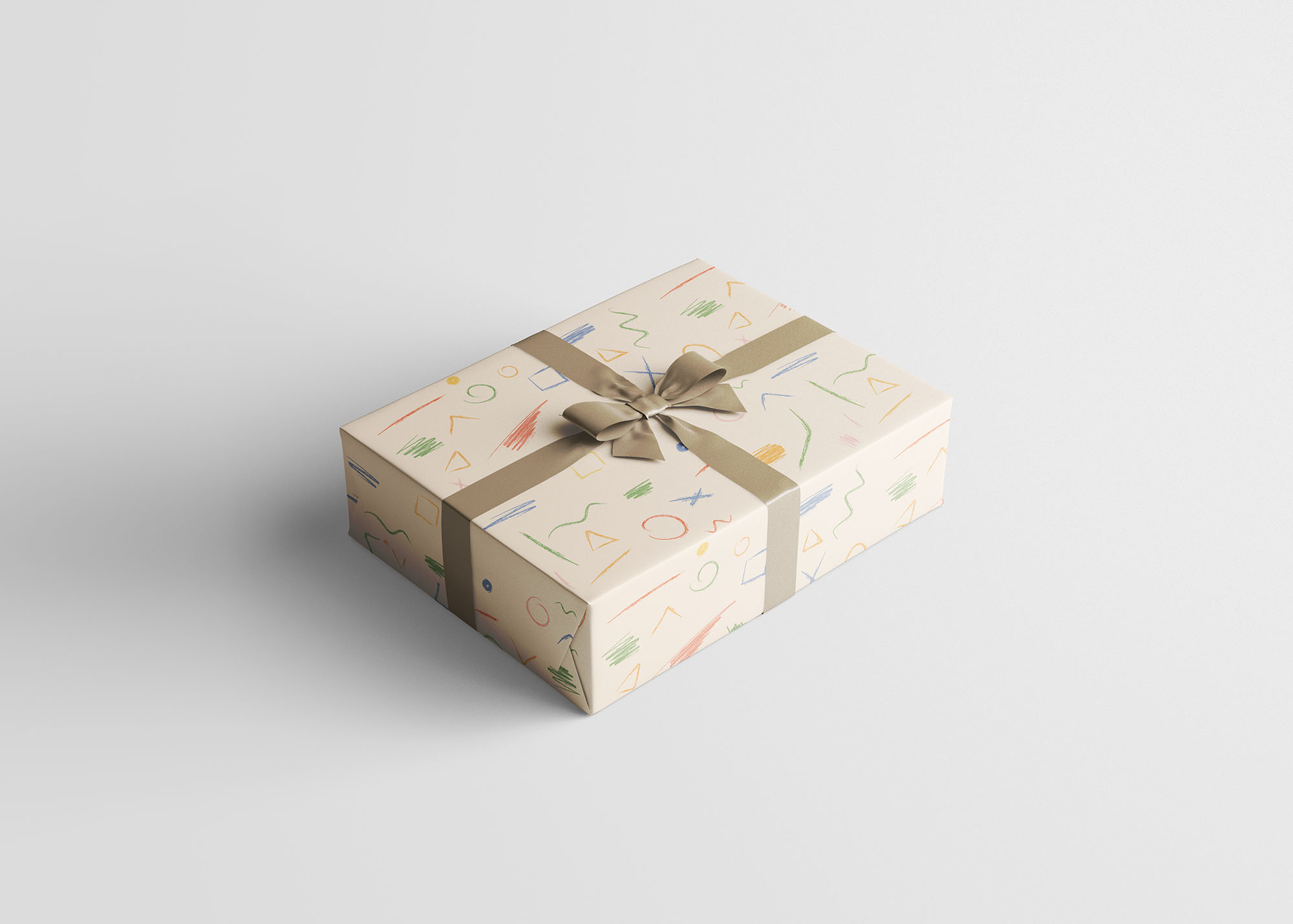 Wrapping Paper Mockup 3