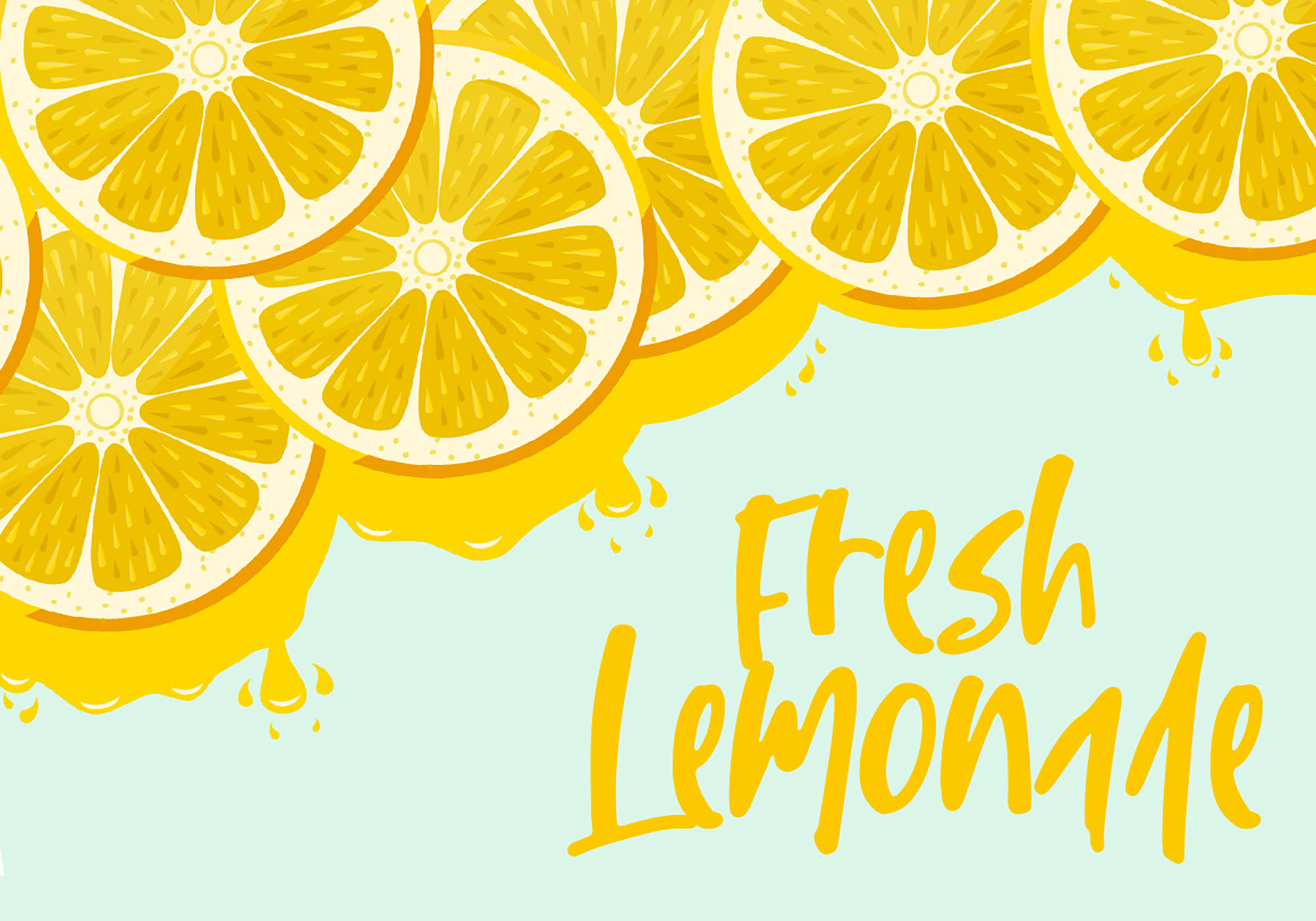 Lemon & Fresh Font Design