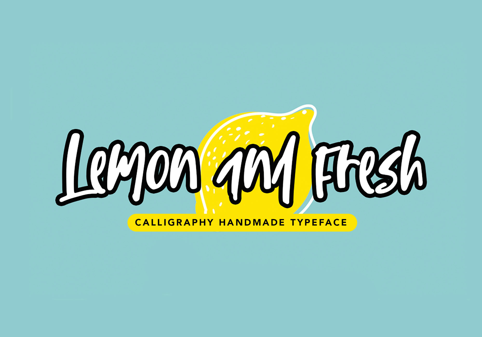 Lemon & Fresh Font