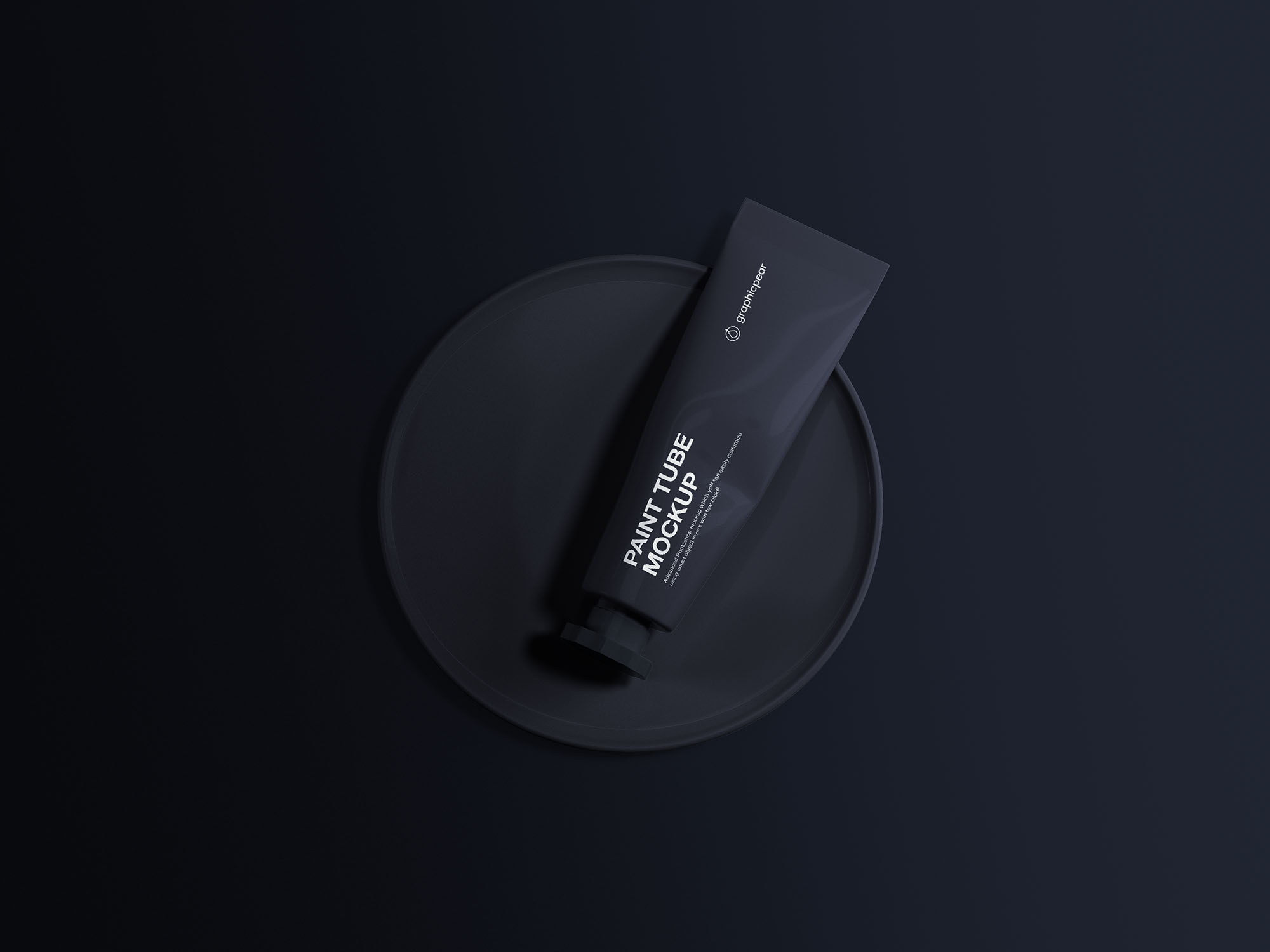 Oil Paint Tube Mockup