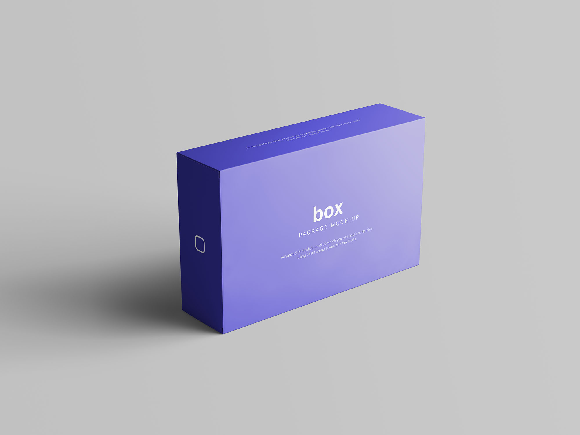 Box Packaging Mockup 1