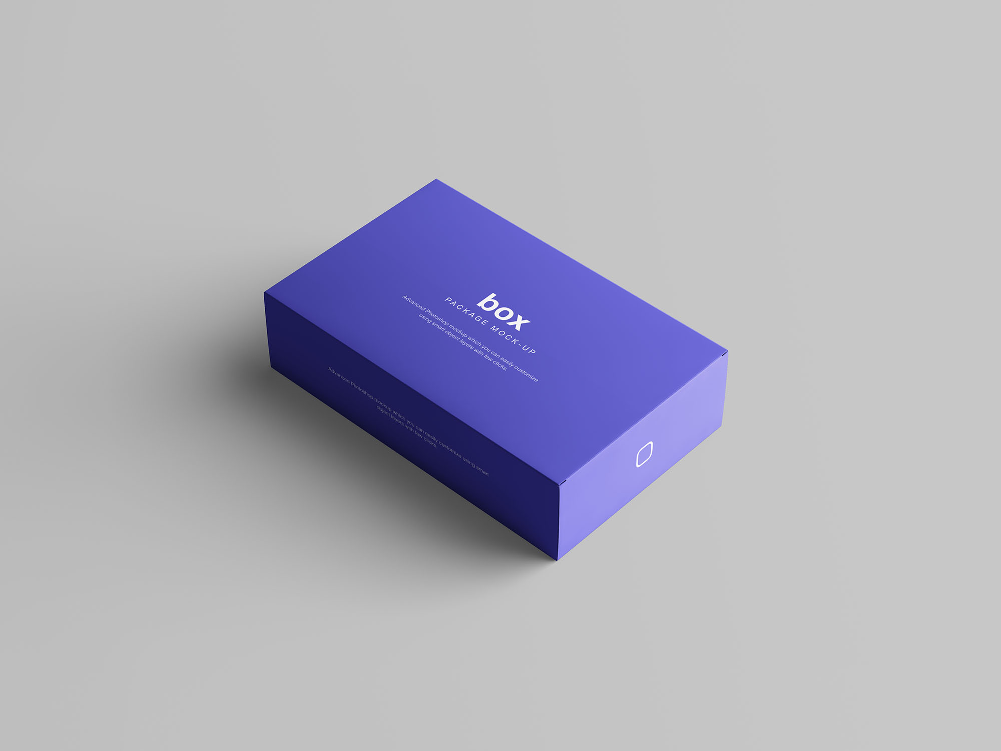 Box Packaging Mockup 2