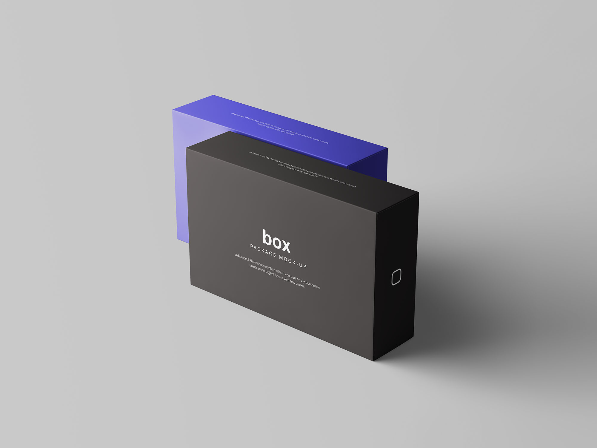 Box Packaging Mockup 3