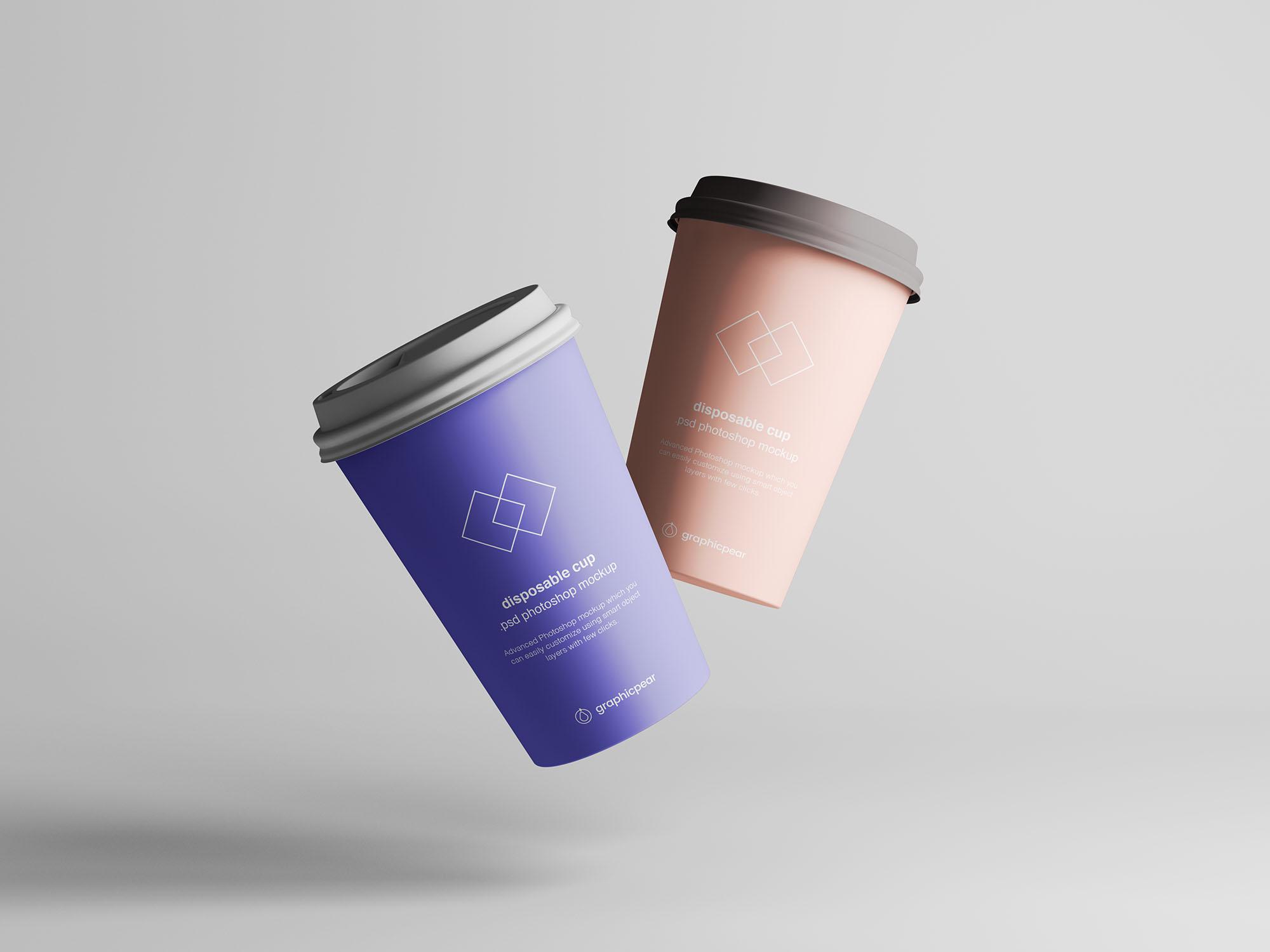 Coffee Cup Mockup 4