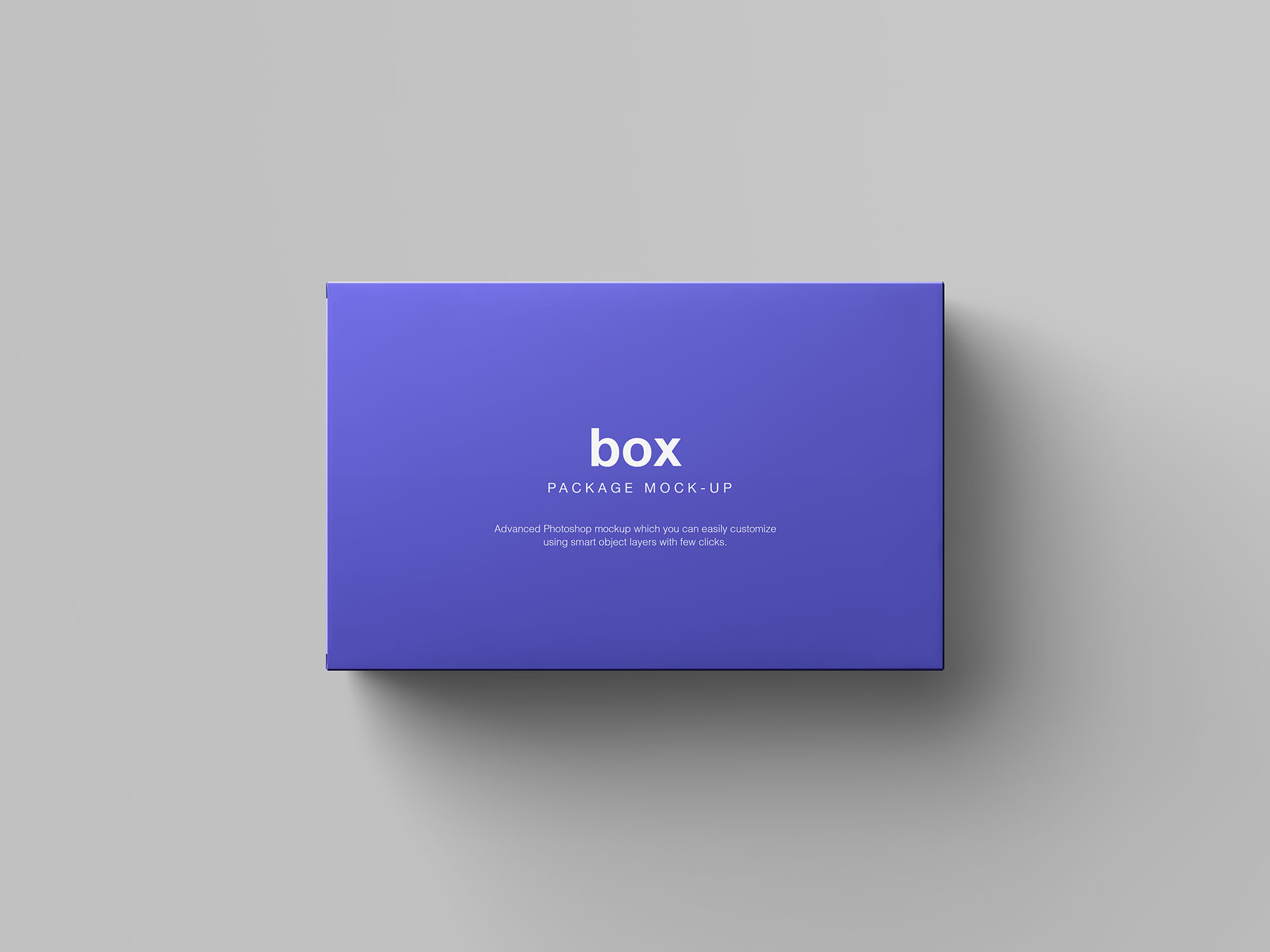 Box Packaging Mockup 4