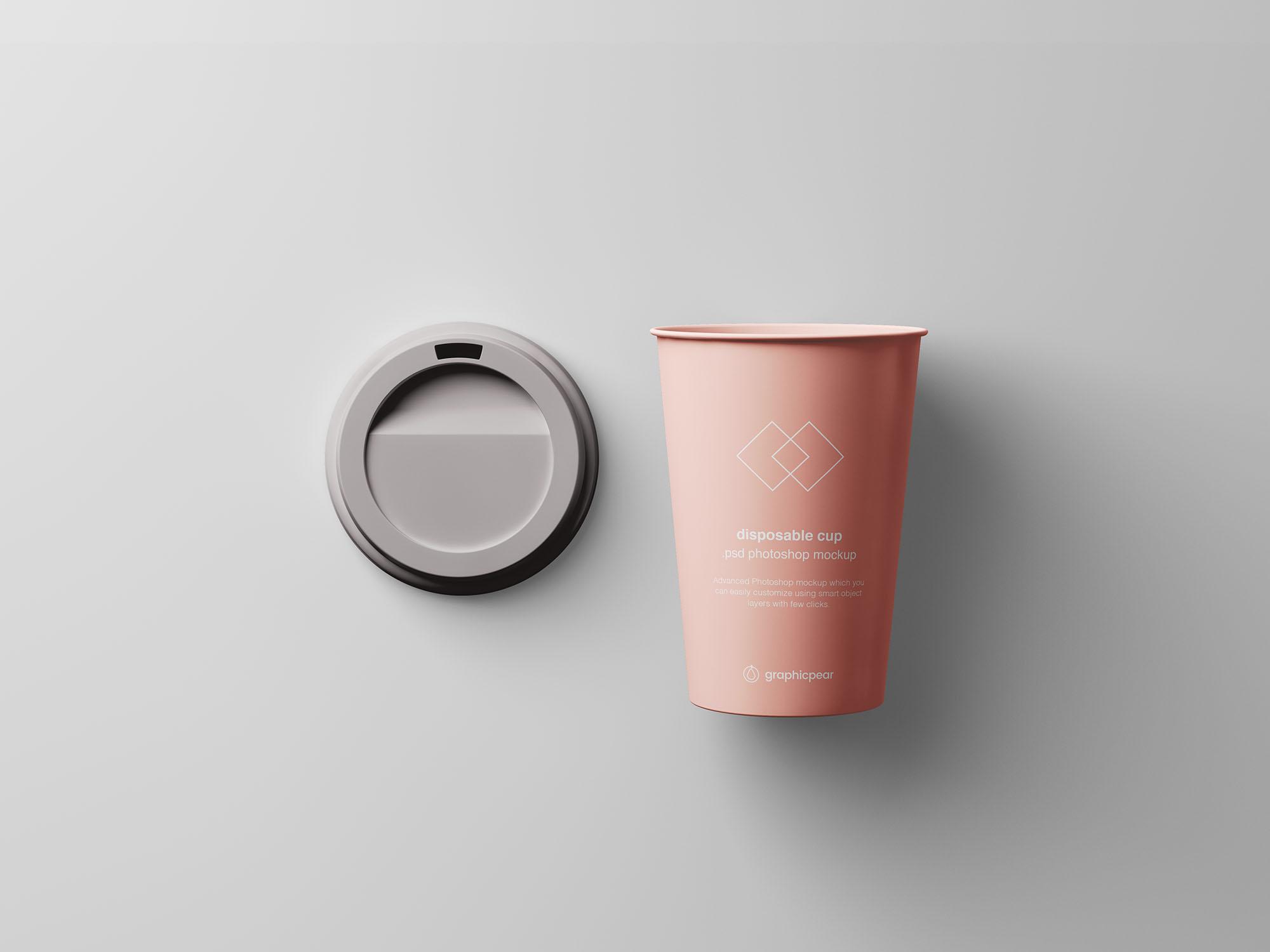 Coffee Cup Mockup 5