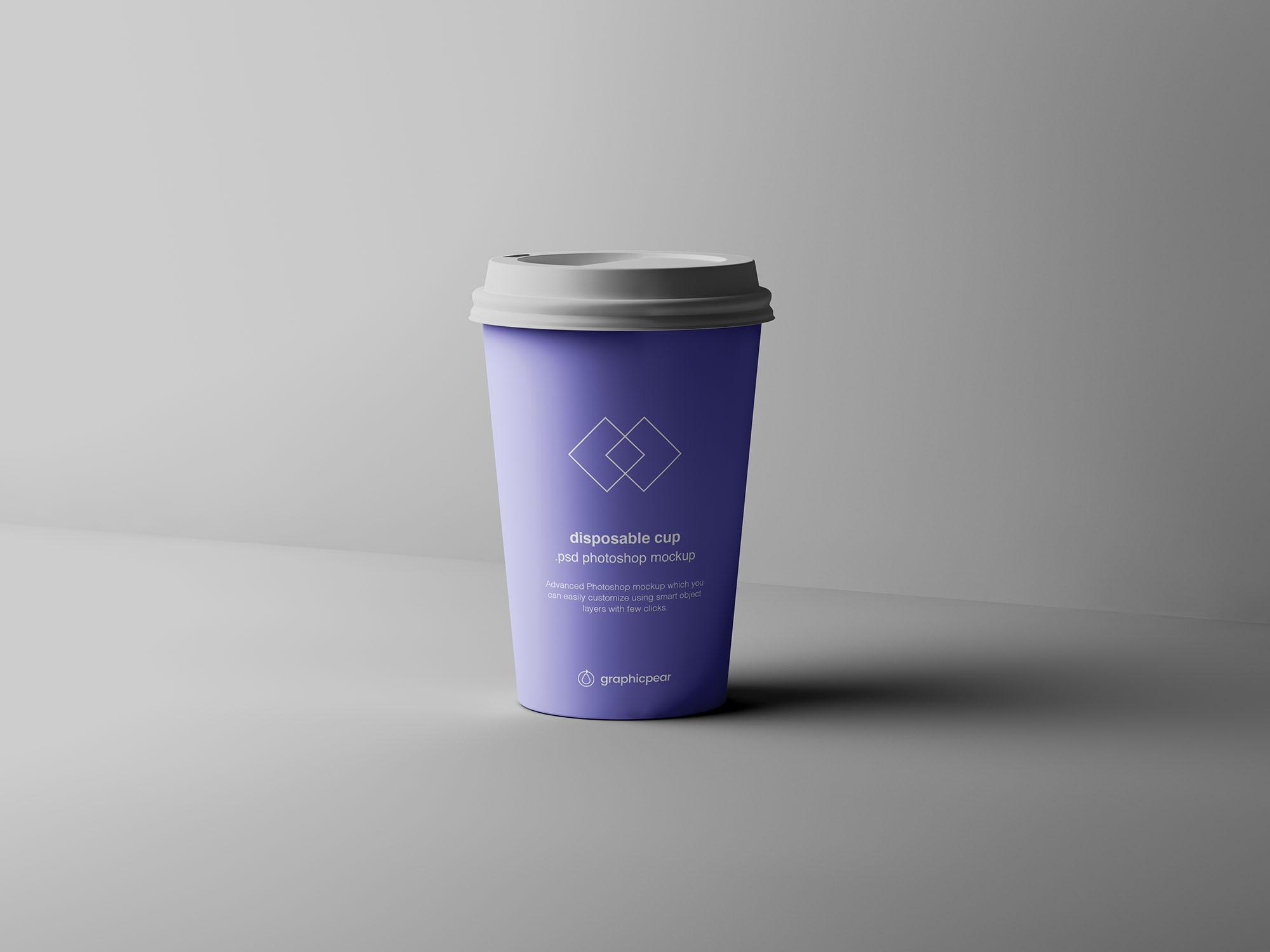 Coffee Cup Mockup 6