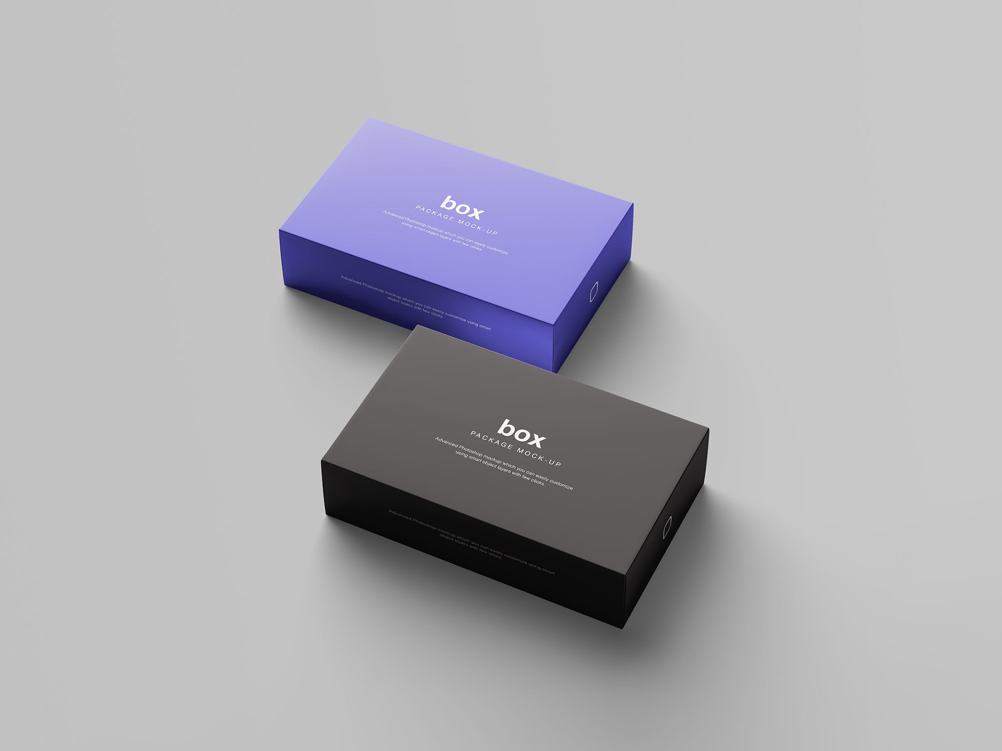Box Packaging Mockup 6
