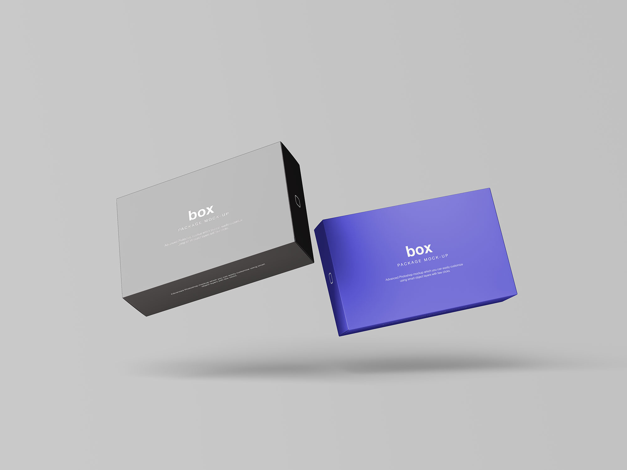 Box Packaging Mockup 7