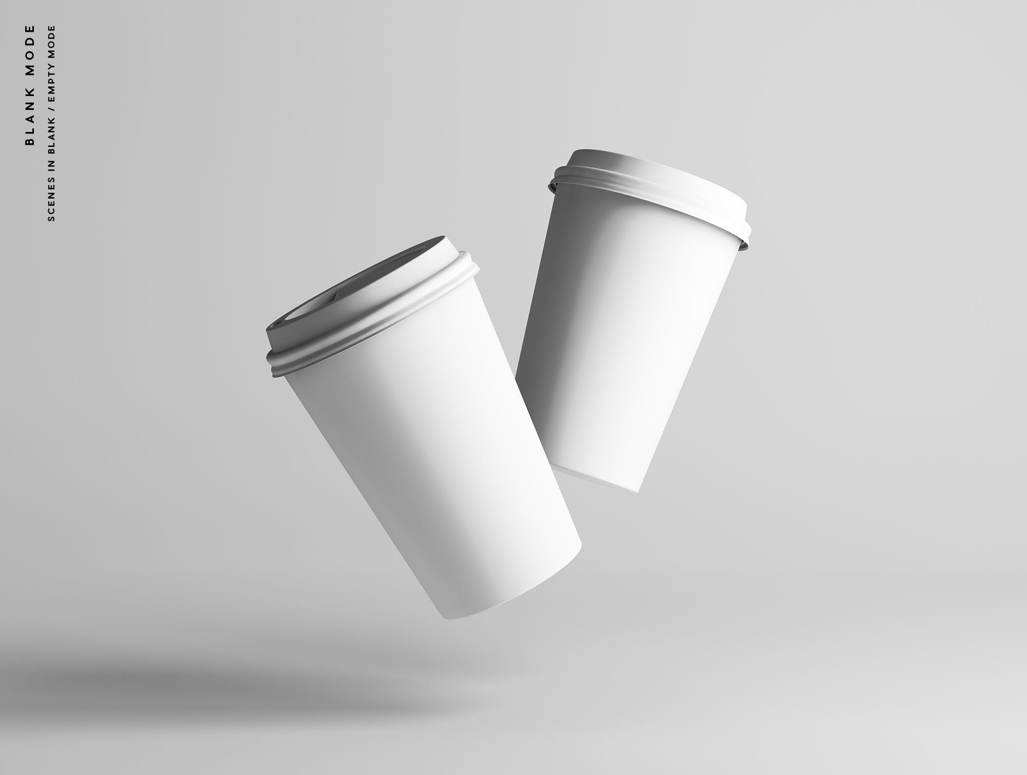 Coffee Cup Mockup - Blank Mode