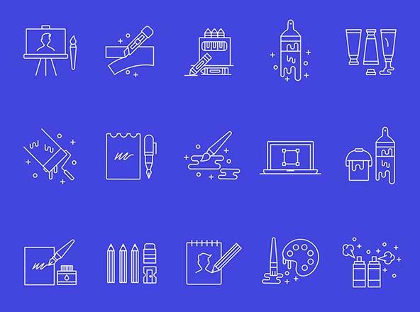 Designer Tools Vector Icons