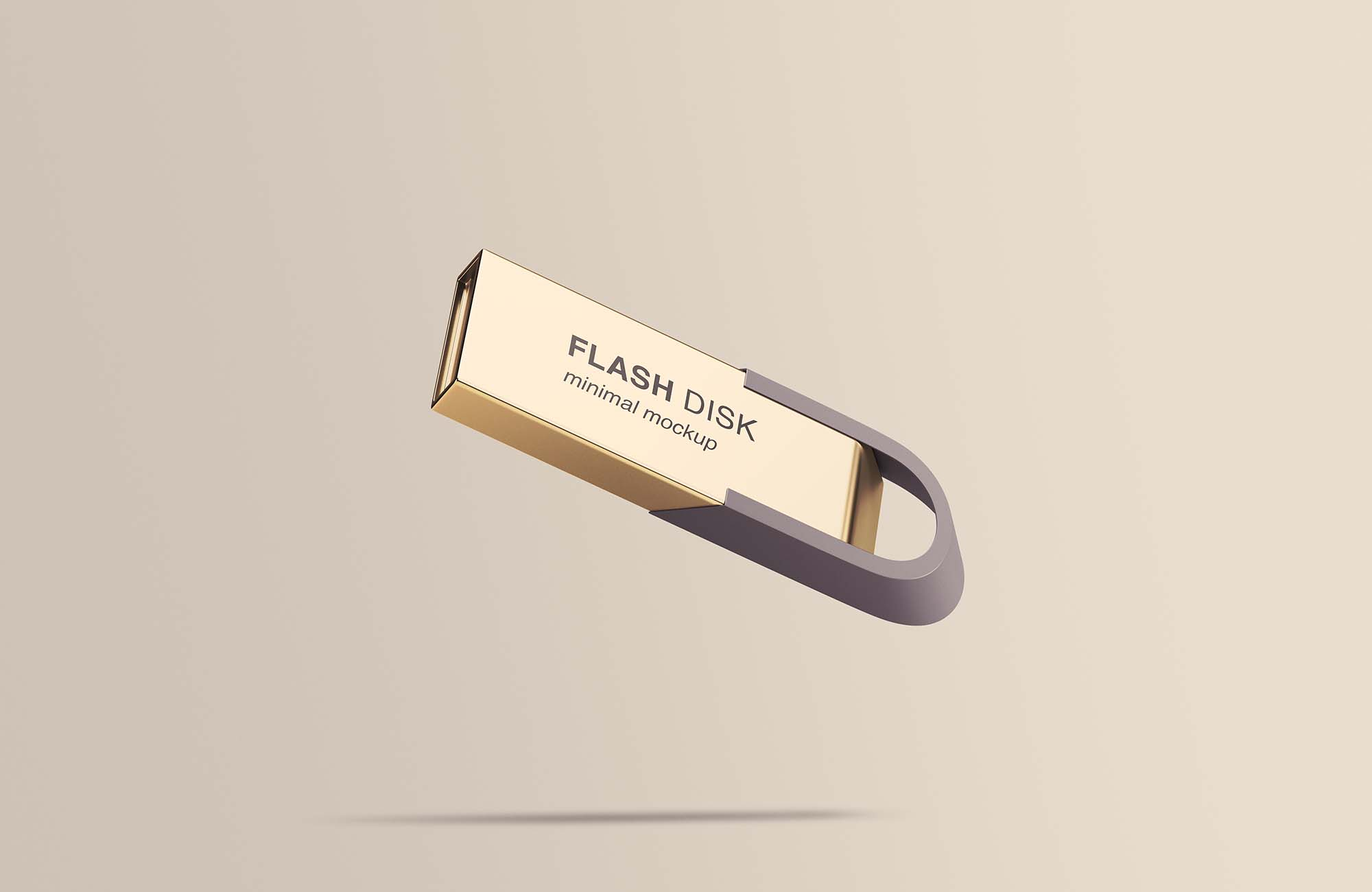 Flying Flash Disk Mockup