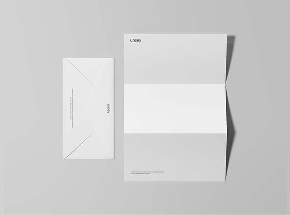 Letterhead & Envelope Mockup