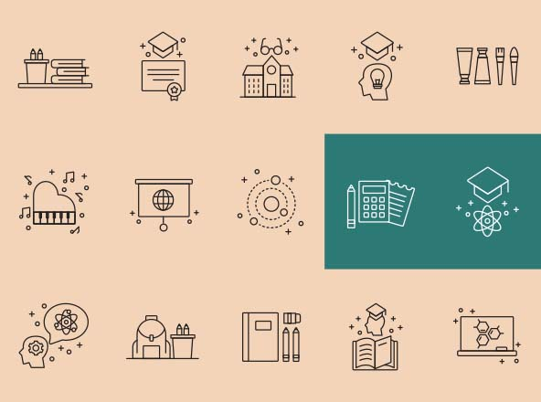 Teaching Vector Icons
