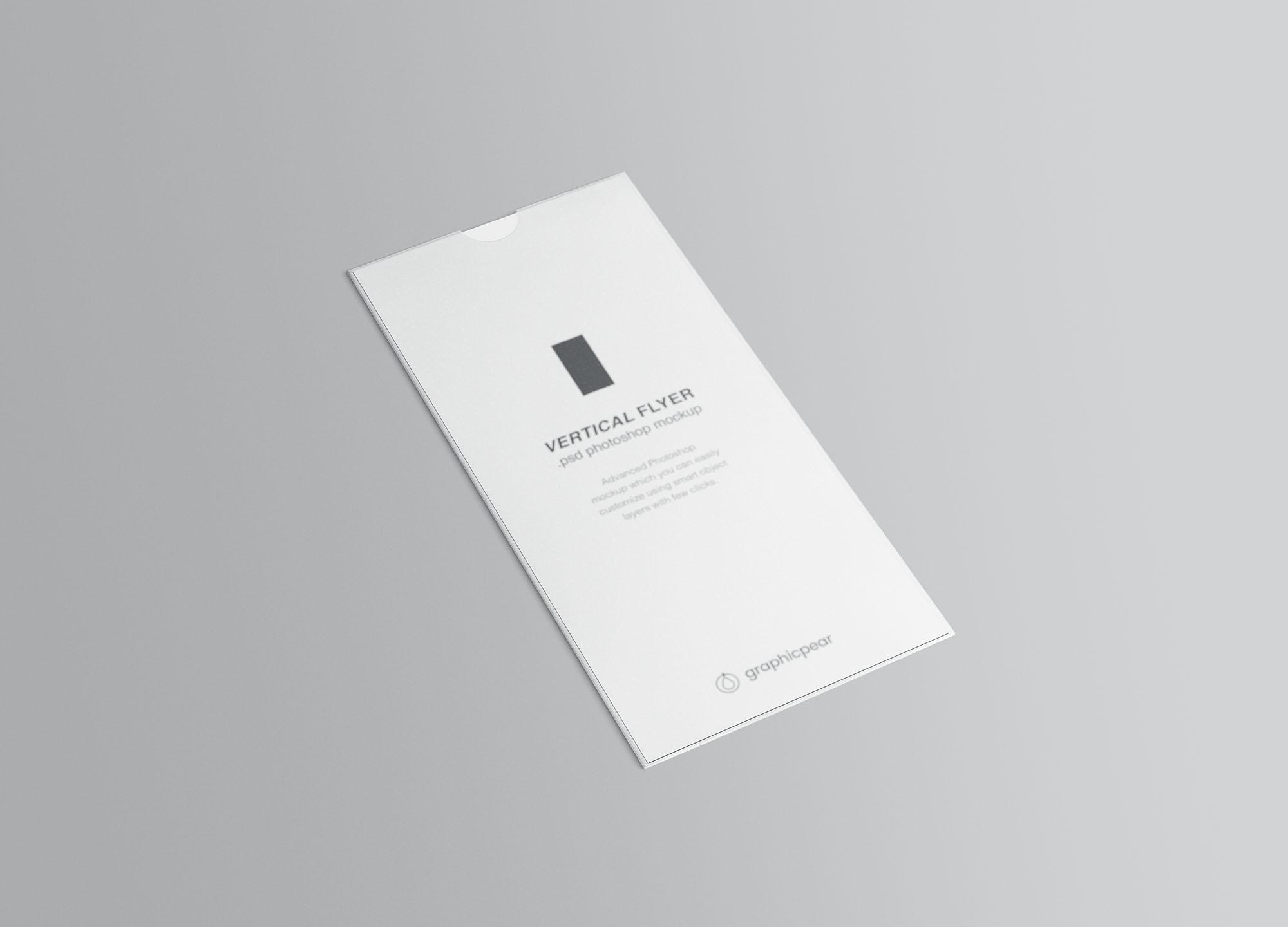 Vertical Leaflet Mockup 1
