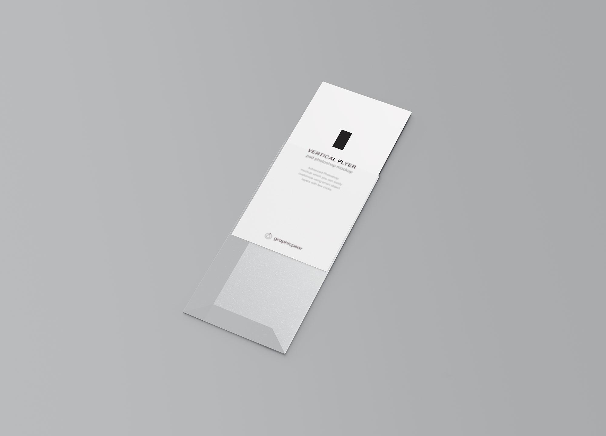 Vertical Leaflet Mockup 2