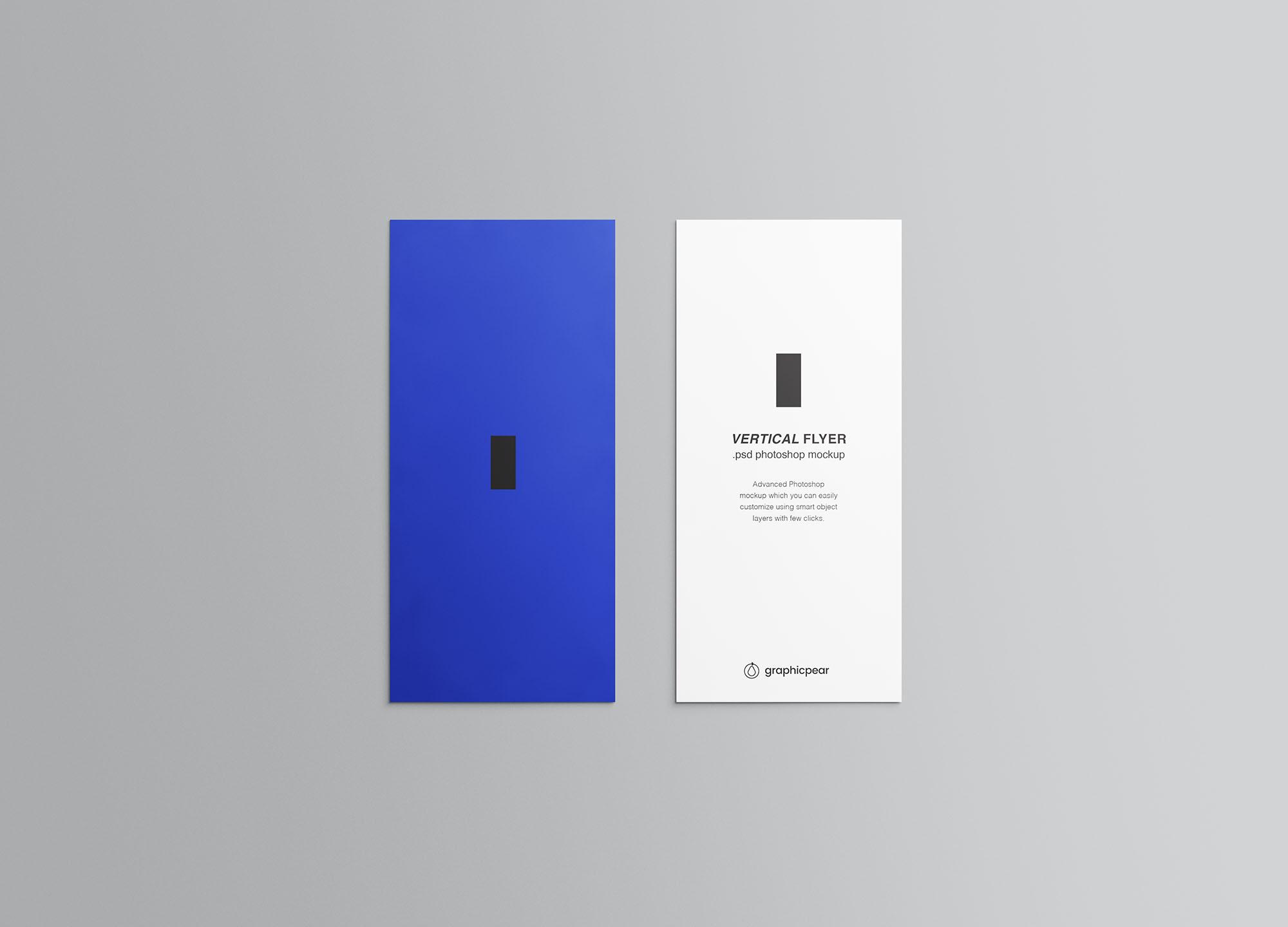 Vertical Leaflet Mockup 5