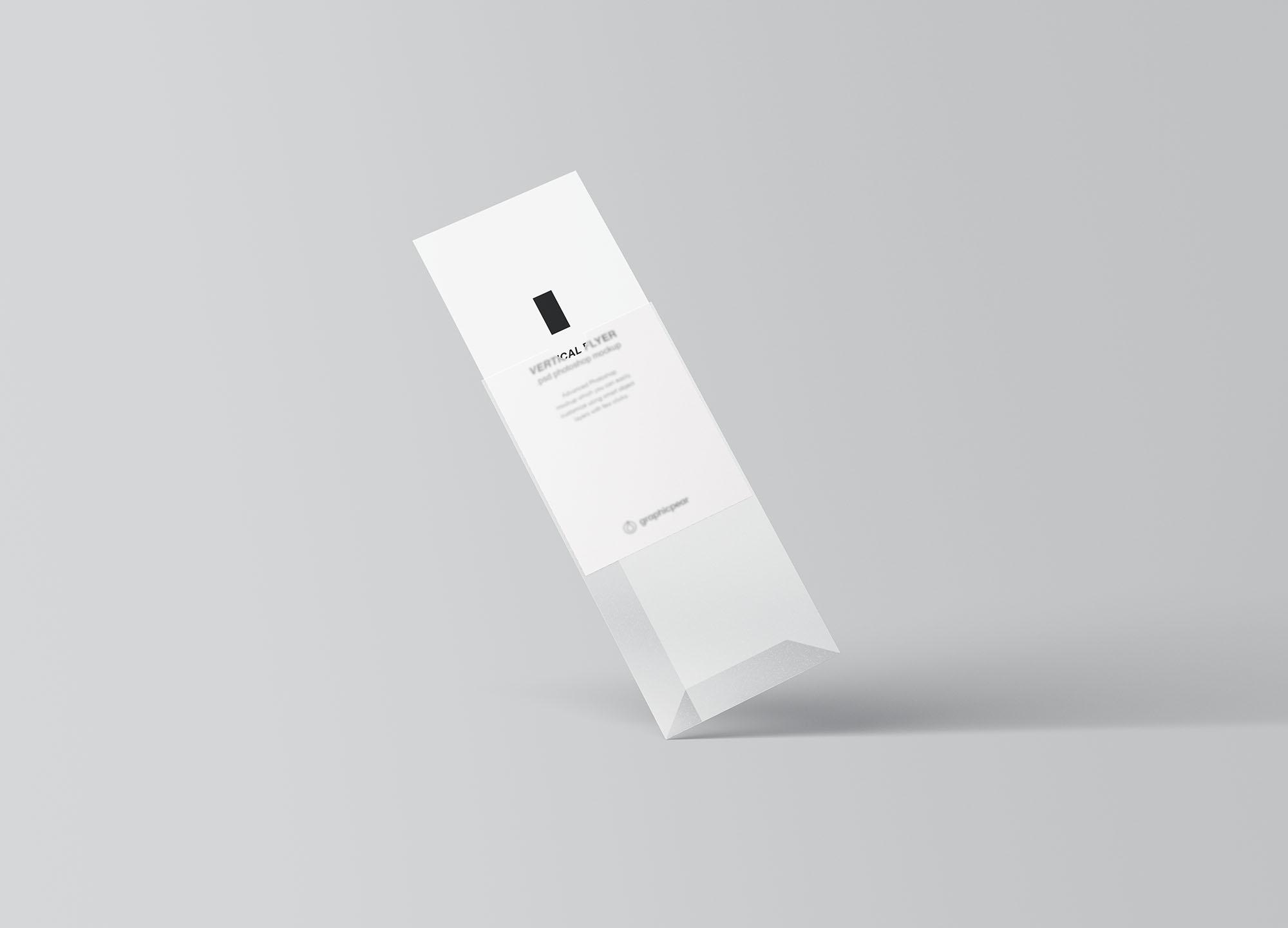 Vertical Leaflet Mockup 6