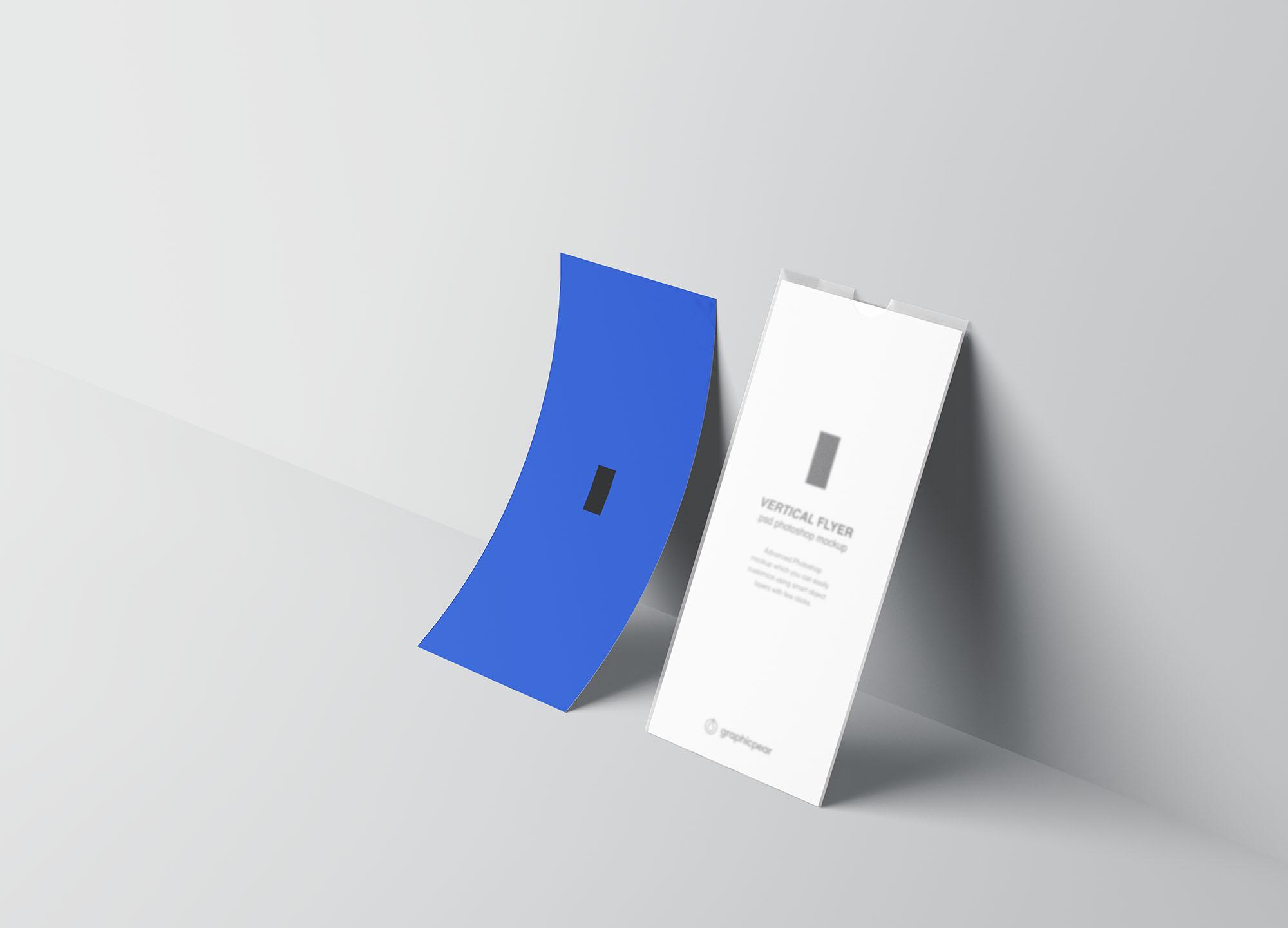 Vertical Leaflet Mockup 7