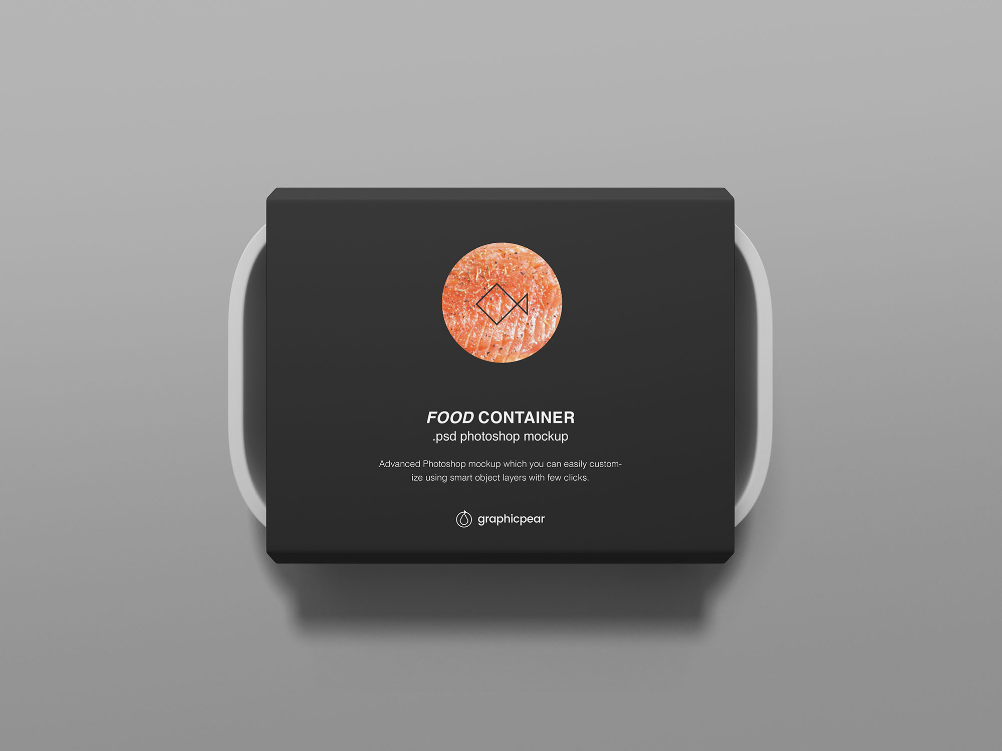 Rectangular Food Container Mockup