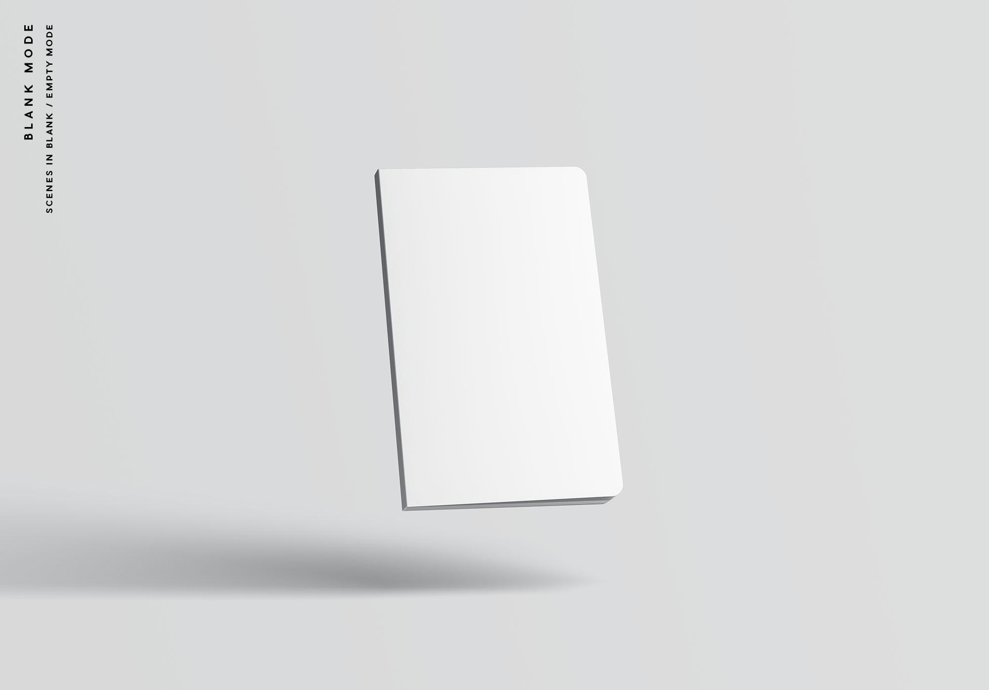 Notebook Mockup - Blank Mode