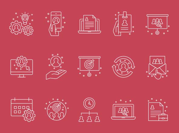 Human Resources Icons Part 03