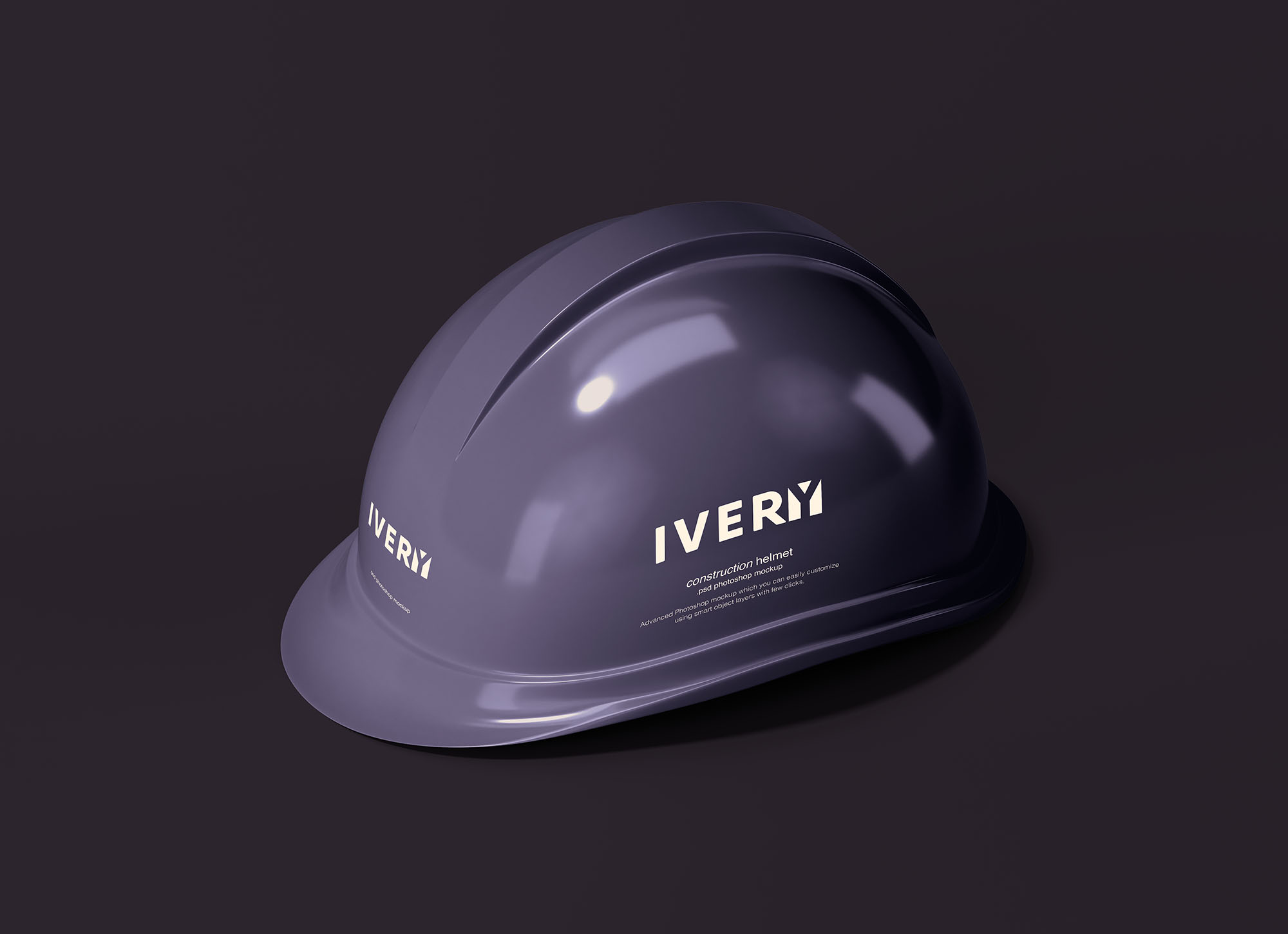 Construction Helmet Mockup 2