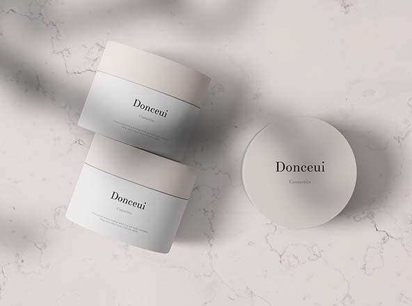 Cosmetics Jars Mockup