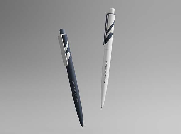 Floating Pens Mockup