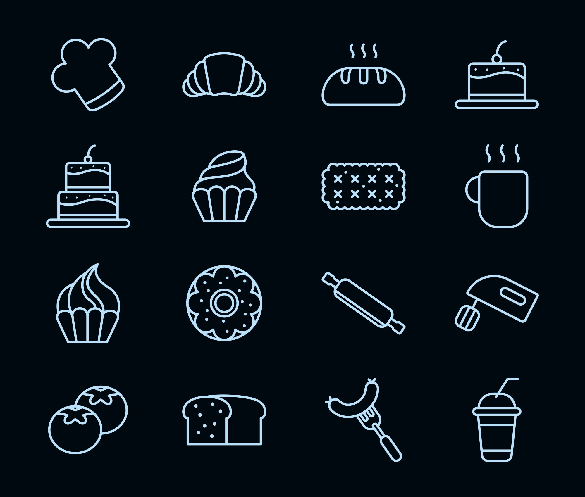 Cake and Bakery Icons 2