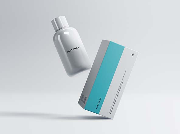 Medical Packaging Mockup