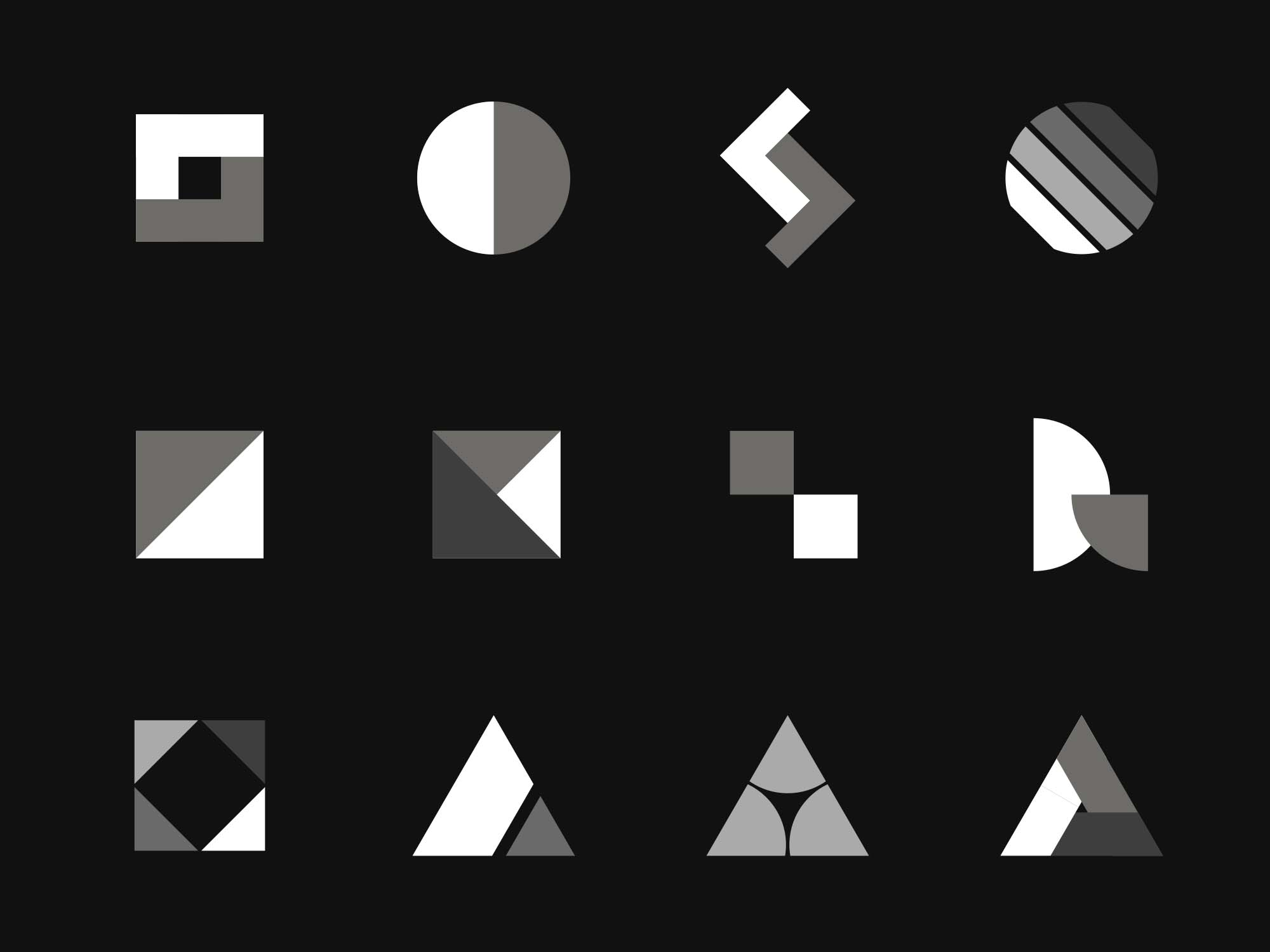 Vector Logo Shapes
