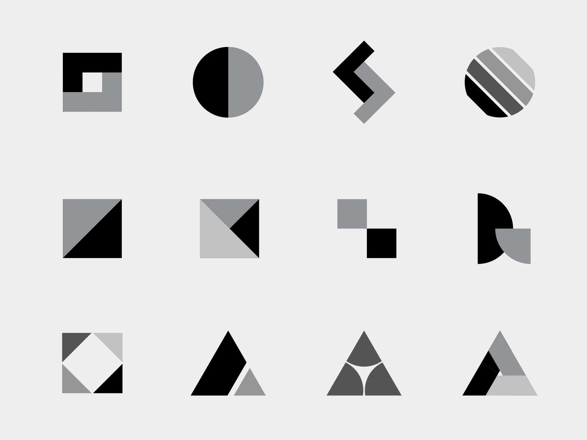 Vector Logo Shapes - Part 01