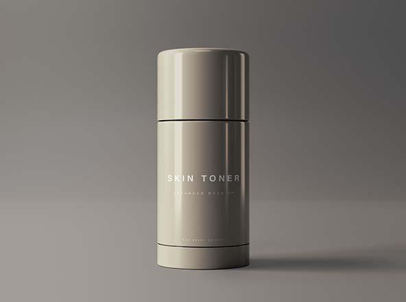 Skin Toner Mockup