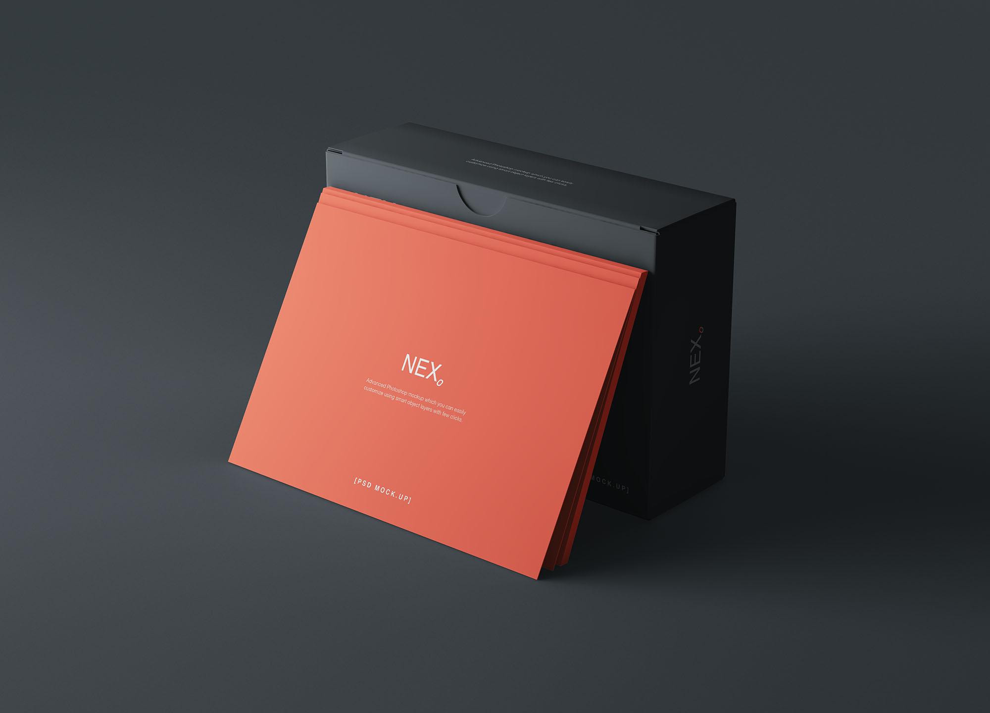 Card Box Mockup 2