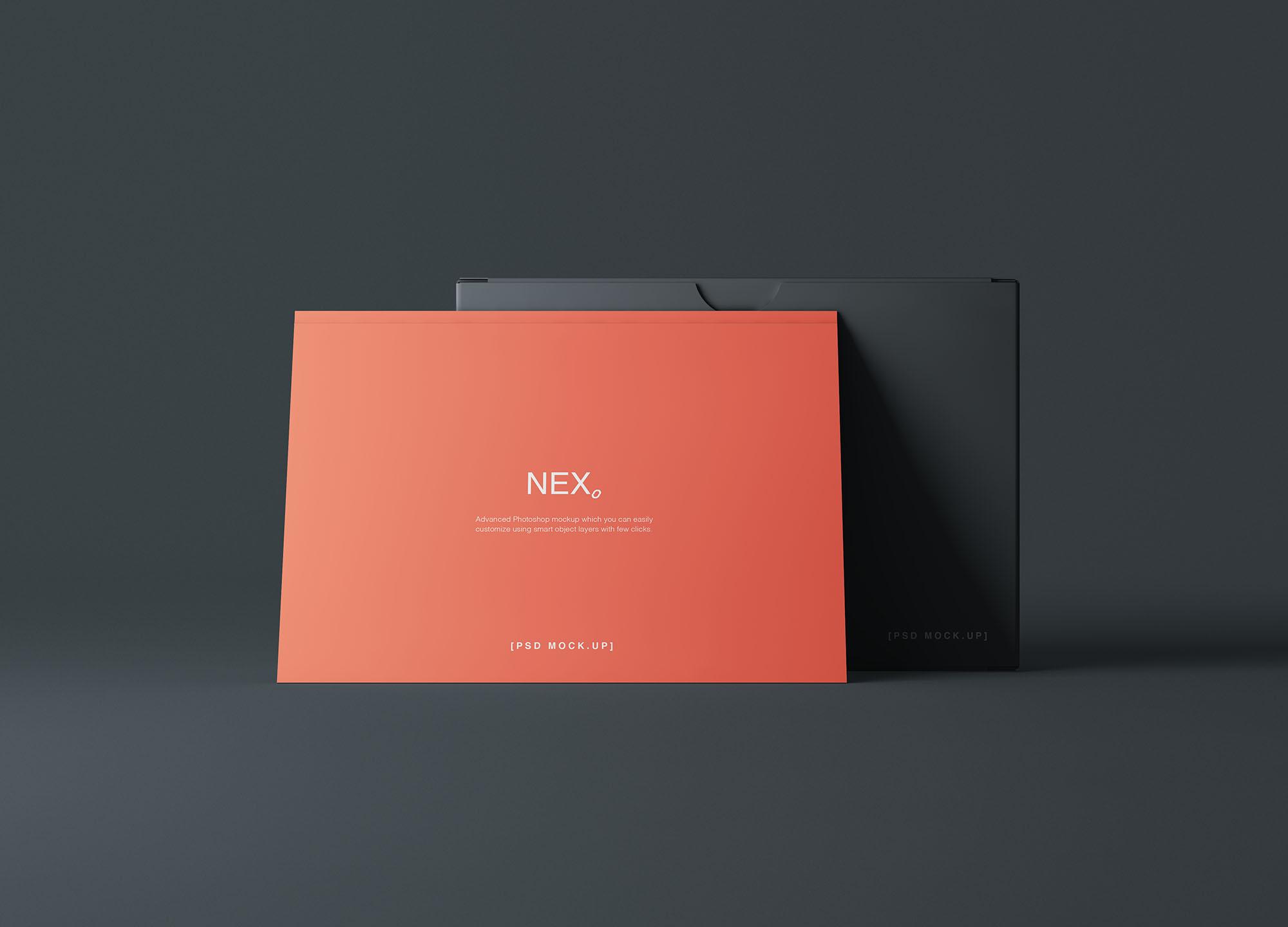 Card Box Mockup 3