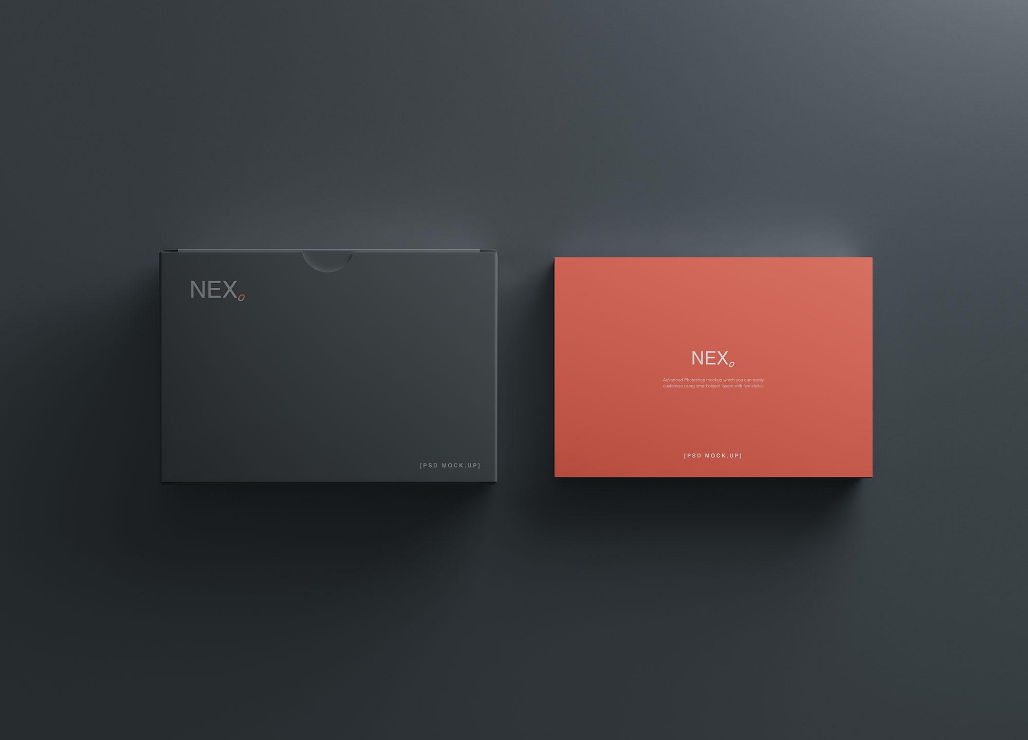 Card Box Mockup 4