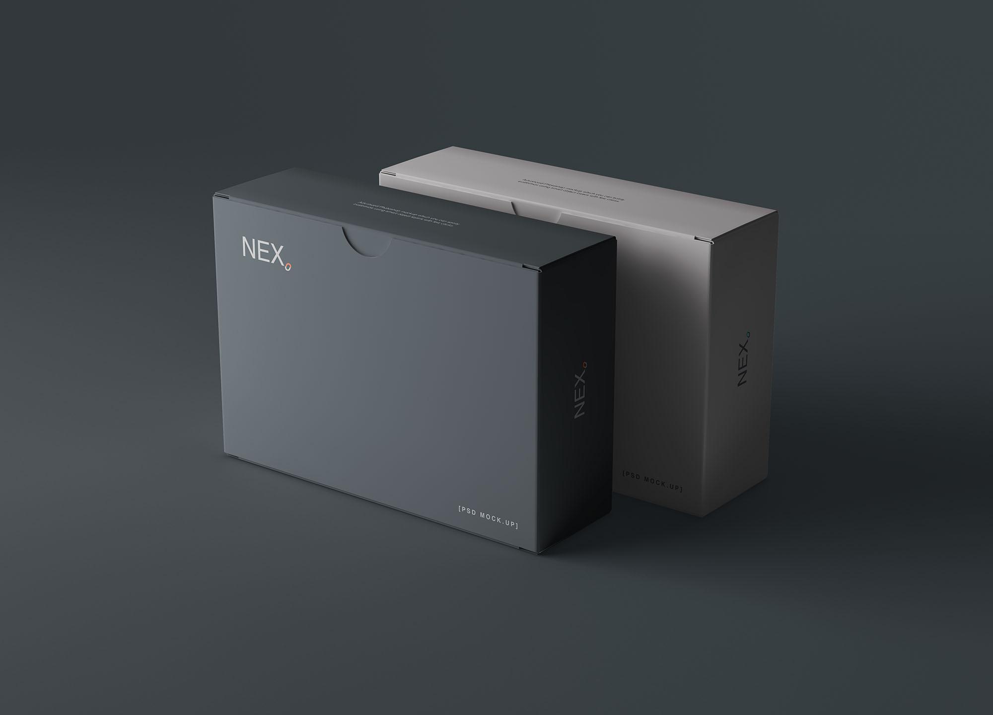 Card Box Mockup 6