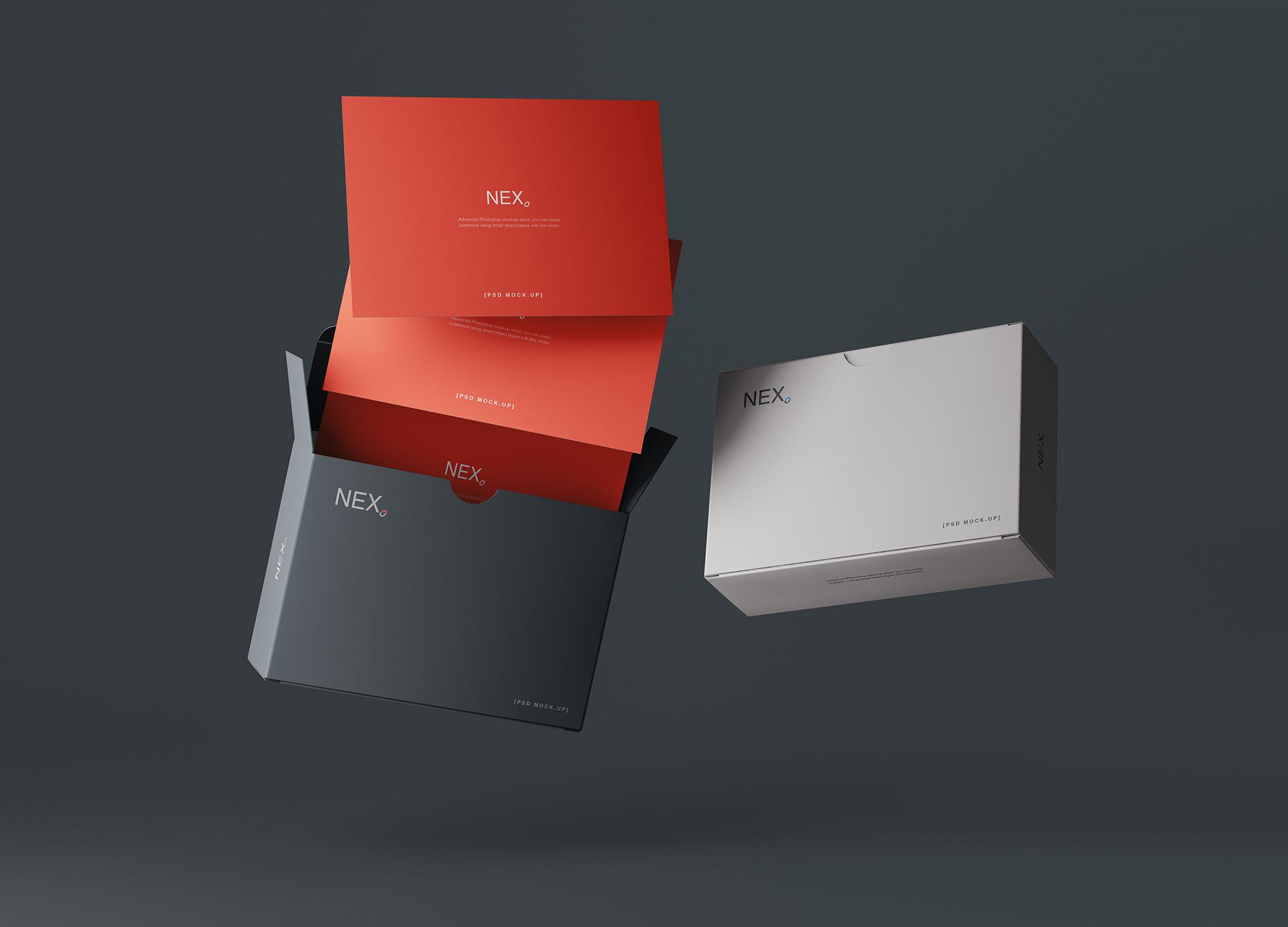 Card Box Mockup 7