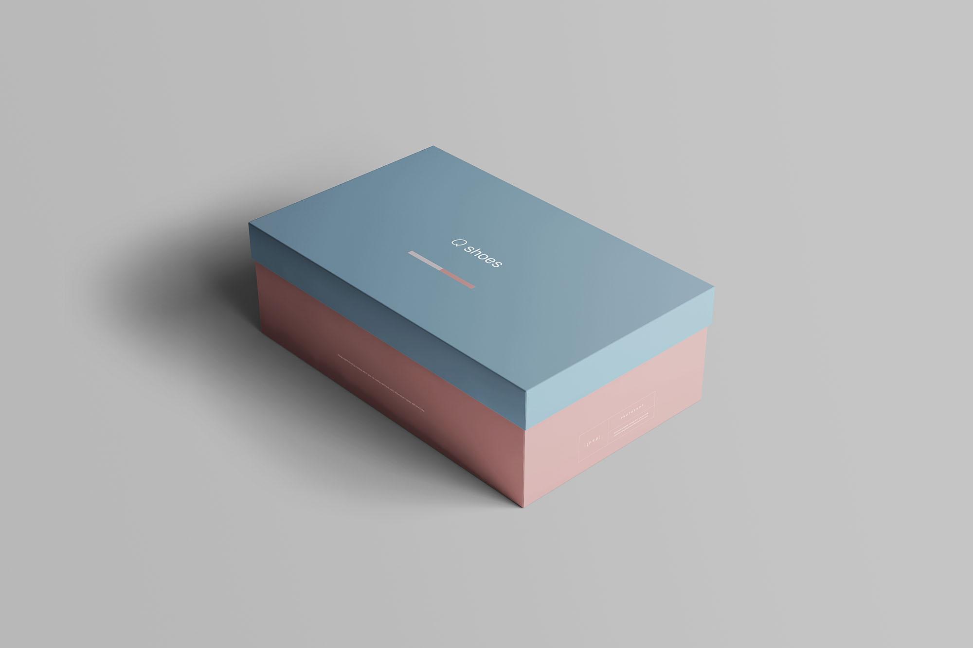 Shoe Box Mockup 2